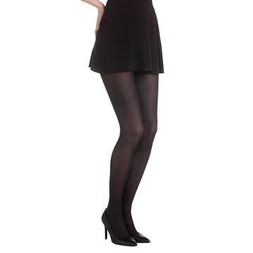 Collant noir losanges Madame So Daily 40D-DIM