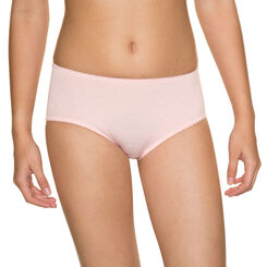 Shorty taille basse  pêche DIM Girl-DIM