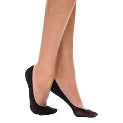 Lot de 4 protège-pieds noirs EcoDIM opaques 40D-DIM