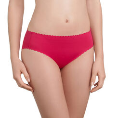 Slip rouge gourmand Body Touch invisibilité totale-DIM