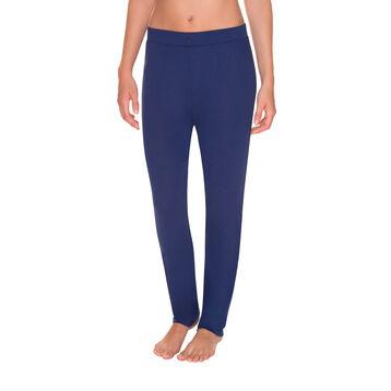 Pantalon de pyjama bleu encre Femme-DIM