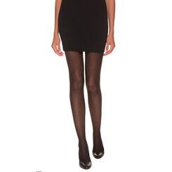 Collant noir alvéole Madame So Daily 41D-DIM