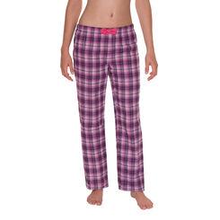 Pantalon de pyjama myrtille à carreaux Femme-DIM