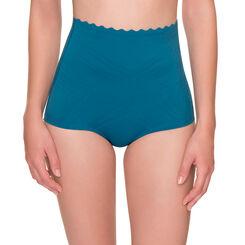 Culotte taille haute bleu océan Beauty Lift effet sculptant-DIM