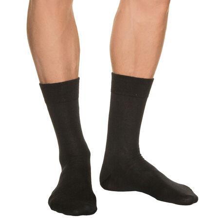 chaussettes noires homme en laine. Black Bedroom Furniture Sets. Home Design Ideas