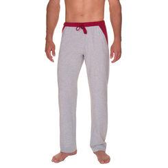 Pantalon de pyjama gris chiné Homme-DIM