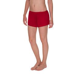 Short de pyjama soyeux rouge coquelicot Femme-DIM