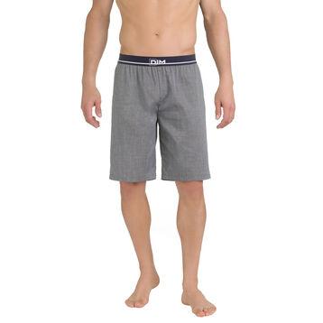 Short de pyjama gris anthracite 100% coton Homme-DIM