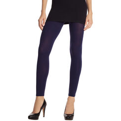 Legging Opaque velouté bleu marine 80D Madame so Daily-DIM