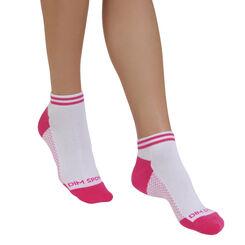 Lot de 2 paires de socquettes invisibles de sport Femme-DIM