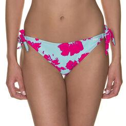 Bas de maillot de bain turquoise et rose Femme-DIM