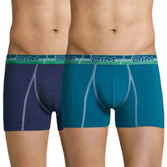 Lot de 2 boxers 3D Flex Dynamic bleus-DIM