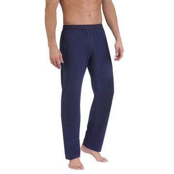 Pantalon de pyjama bleu marine Homme-DIM