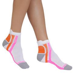 Socquettes blanches de sport ultra Femme-DIM
