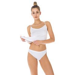 Lot de 2 slips blancs Femme Pur Coton-DIM
