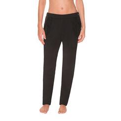 Pantalon de pyjama noir Femme-DIM