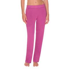 Pantalon de pyjama violet cassis Femme-DIM