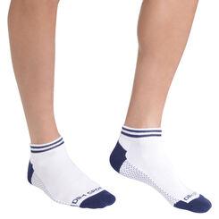 Lot de 2 chaussettes blanches sport Homme-DIM