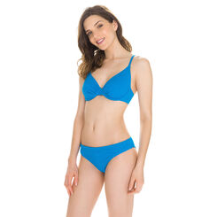 Bas de maillot de bain culotte crochet turquoise Femme-DIM