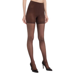 Collant chocolat Diam's Contour 360° semi-opaque 25D-DIM
