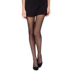 Lot de 2 collants noirs EcoDIM voile transparents 15D-DIM