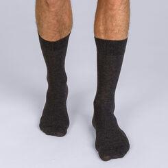 Lot de 2 chaussettes X-Temp anthracite Homme-DIM