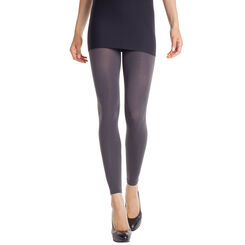 Legging gris charbon opaque velouté 80D Madame so Daily-DIM