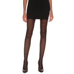 Collant noir seventies Madame So Fashion 44D-DIM