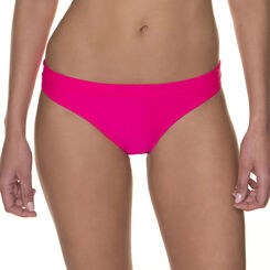 Bas de maillot de bain rose à ceinture Femme-DIM