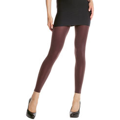 Legging chocolat opaque velouté 80D Madame so Daily-DIM