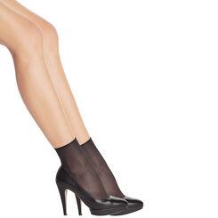 2 paires de socquettes noires irisées Sublim 14D-DIM