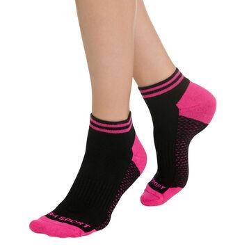 Lot de 2 paires de socquettes de sport invisibles Femme-DIM