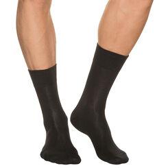 Chaussettes noires Homme Dry&Cool-DIM