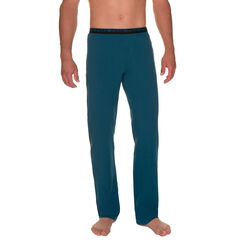 Pantalon de pyjama bleu canard Homme-DIM