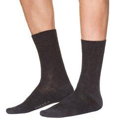 Mi-chaussettes anthracite sport 3D Flex Homme-DIM
