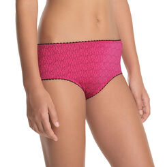 Shorty taille basse groseille - DIM Girl-DIM