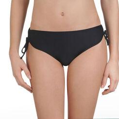 Bas de maillot de bain noir forme shorty à nouer Femme-DIM