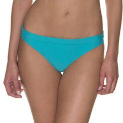 Bas de maillot de bain bleu baltic à ceinture Femme-DIM
