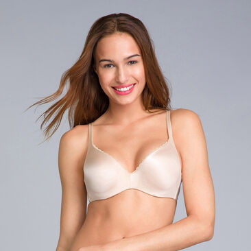 Black Bra - amovible wires - 24H Soft Absolu -PLAYTEX