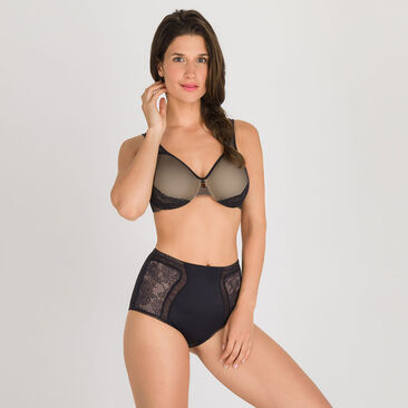 Shaping Maxi Brief in Black – Expert In Silhouette Feminine-PLAYTEX