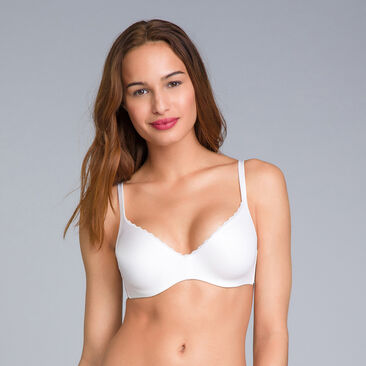 White Bra - amovible wires -  – 24H Soft Absolu -PLAYTEX