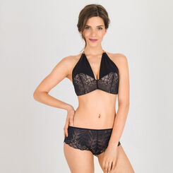 Black Lace Shorty - Refined Glamour-WONDERBRA