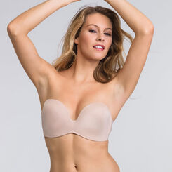 Skin strapless Push-up bra - Ultimate Silhouette Plain-WONDERBRA
