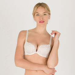 White Push-Up + 2 Extra Cup Sizes Bra - Refined Glamour-WONDERBRA