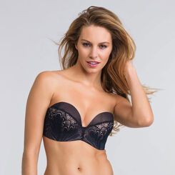 Black Ultimate Strapless Bra - Refined Glamour-WONDERBRA