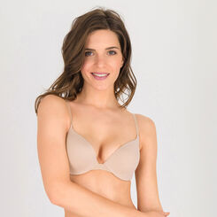 Soutien-gorge push-up T-shirt bra beige –Ultimate Silhouette-WONDERBRA