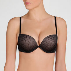 Black Full Effect Push-up Bra – Ultimate Silhouette Lace-WONDERBRA