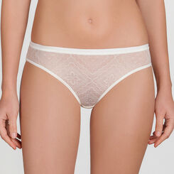Ivory white Lace Brief - Ultimate Silhouette Lace-WONDERBRA