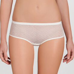 Ivory white Lace Shorty - Ultimate Silhouette Lace-WONDERBRA