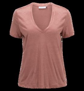 Women's Linen V-neck